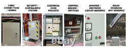 Stainless steel Electrical Enclosure box waterproof Metal Wall mount 8x10x5.5