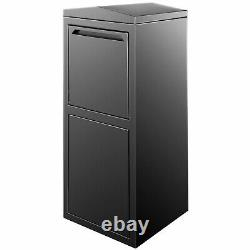 Steel Locking Extra Large Drop Box Wall Mounted Mailbox for Outside Home Office