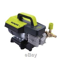 Sun Joe Pressure Washer Wall Mount Electric Commercial Spray Wand 1300 PSI 2 GPM