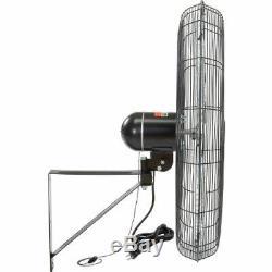 TPI CACU30-WO 30 Commercial Oscillating Fan Wall Mount 8700/7500/6780 CFM 120V
