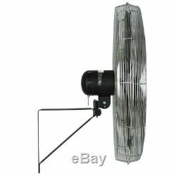 TPI CACU-30-W 30 1/4HP 120V Wall Mount Commercial Fan