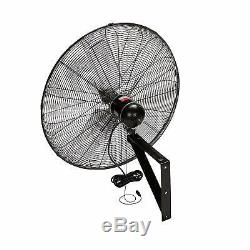 TPI Corporation 30 3-Speed Single-Phase Wall Mount Commercial Circulator Fan