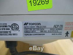 Topcon ACP-7R Auto Chart Commercial Wall Mount Projector Vision Exam Optometry