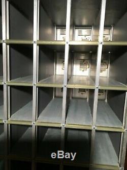 Unused 40 door unit Commercial Mailboxes Combination Locks Rear Load