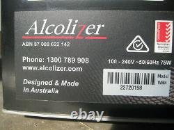 Used Alcolizer WM4 Wall Mount Commercial Industrial Alcohol Tester Breathalyser