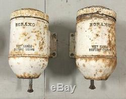 Vintage Wall Mount Boraxo Dry Soap Dispenser Commercial Industrial