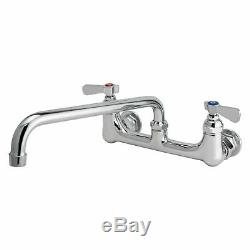 Wall Mount Faucet Swing Spout Commercial Series