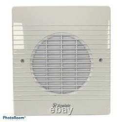 Xpelair WX6EC 071330 White Flush Wall Mounting Commercial Axial Fan 150mm