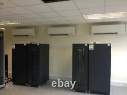YMGI 60000 BTU 2 x 30000 BTU Ductless mini split Air conditioner for Grow Room
