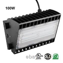 11,000lm Commercial Led Wall Pack Light Ip65 Outdoor Building Mounted Light 100w