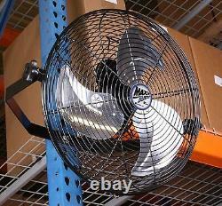 18 Support Mural Ventilateur De Qualité Commerciale Magasin Industriel Refroidissement De L'usine Circulant