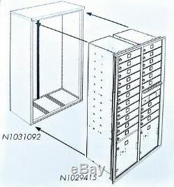 20 Boîte Aux Lettres Porte 4c Avec Collier De Surface Usps Approuvé