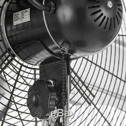 20 Mur Fan Mont-3 Vitesse De Qualité Commerciale Air Circulator Entrepôt Gypserie