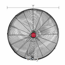 24 Pouces High-velocity Indoor Oscillating Wall Mount, New Model Commercial Fan