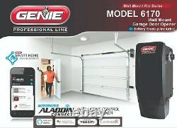 2-pack Genie Overhead 6170h-b Mur Mount Jackshaft Garage Opener Batterie Backup