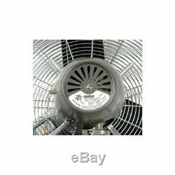 3 Vitesses Oscillant Mural Ventilateur Silencieux Commercial Industriel 30 Dia. 1/3 HP