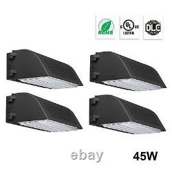 4800lm Waterproof Led Wall Pack Light Commercial Outdoor Building Monté 45w