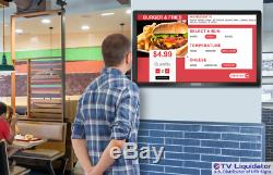 50 Hd Wall Mont Écran Tactile D'ordinateur Kiosk Commercial Grade Affichage Numérique
