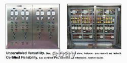 Acier Inoxydable Boîtier Électrique Étanche Support Mural En Métal 8x10x5.5