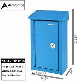 Adiroffice Outdoor Grande Boîte À Clé Drop Box De Stockage De Qualité Commerciale