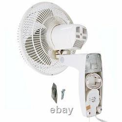 Air King 12 Lame À 3 Vitesses De Qualité Commerciale Oscillant Support Mural Du Ventilateur (3 Pack)