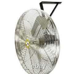 Circulateur D'air Commercial, 3 Vitesse, 30 Prop Diamètre, 115v Ventilateur Mural/montoir