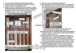 Clôture En Acier Inoxydable Boîte Aux Lettres Sécurisée De Livraison De Colis Grande Clôture De Montage