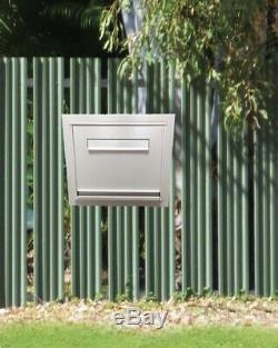 Clôture Montée Du Colis Letterbox Boîte Aux Lettres