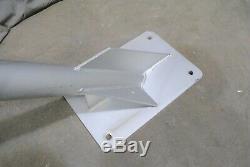 Commercial Gr 7 Pieds De Long Murale Drapeau Poteau En Aluminium Salvage 45 ° 10 Disponible