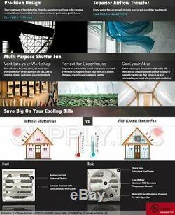Commercial Support Mural Shutter Hotte 12 Atelier Rangement Garage Shed Grange
