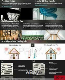Commercial Support Mural Shutter Hotte 24 Atelier Rangement Garage Shed Grange