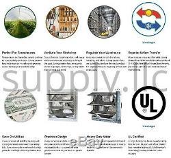 Commercial Support Mural Shutter Hotte 30 Atelier Rangement Garage Shed Grange