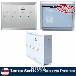 Encastré Postbox Letterbox Cluster Mailbox Commercial Appartement Surface De Verrouillage