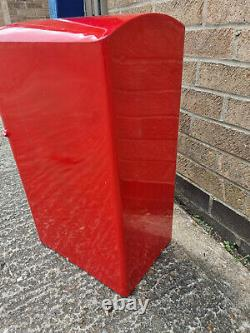 Gr Royal Mail Post Box Red Cast Iron George VI Wall Mounted Lettre Fente Verrouillable