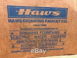 Haws Rf-1002 Ada Mur Commercial Mont Eau Potable Fontaine Installation Complète