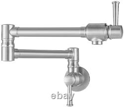 Imlezon Pot En Acier Inoxydable Remplissage Robinet Commercial Wall Mount Kitchen Sink Fau