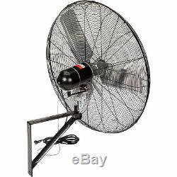 Ipt Commerciale Oscillant Murale Fan- 30 Pouces 1/4 HP 6700 Modèle Cfm # Cacu30-wo