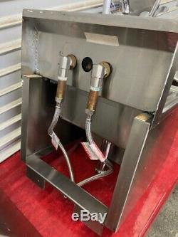 Lavage À La Main Sink Support Mural Distributeur De Serviettes En Acier Inoxydable Nsf Commercial # 4032