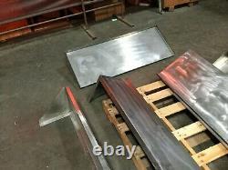 Lot De (5) Stainless Steel Wall Mount Shelve Restaurant Commercial Kitchen Shelf