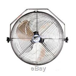 Maxx Air Wall Mount Fan, De Qualité Commerciale Pour Patio, Garage, Magasin, Facile Opératio