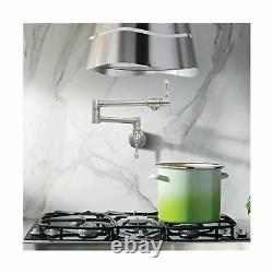 Mstjry Pot De Remplissage Robinet Mural En Acier Inoxydable Robinet De Cuisine Commerciale