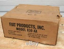 Nos Fiat 830 Aa Utility Service Robinet D'évier Avec Reniflard Mop Commercial