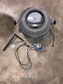 Nouveau Dans Commercial Grade Mural 23 Atomist Brumisation Ventilateur De Refroidissement