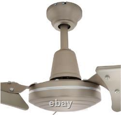 Nouveau Ventilateur Industriel Haute Puissance De 60 Pouces À 3 Lames En Acier Brossé Energy Star Ceiling