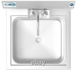 Nsf Mur En Acier Inoxydable Mount Commercial Hand Sink 17 X 15 Évier De Lavage À La Main