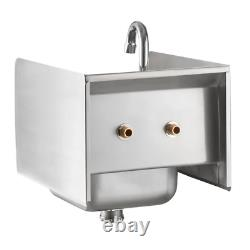 Nsf Wall Mount Hand Wash Évier Stainless Steel Commercial Restaurant 12 X 16
