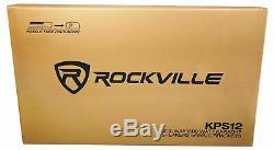 Paire Rockville Kps12 12 1600w Haut-parleurs Withwall Mounts Restaurant / Bar / Café
