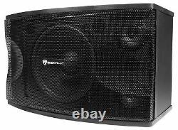 Paire Rockville Kps12 12 1600w Wall Speakers+amplificateur Pour Restaurant/bar/café