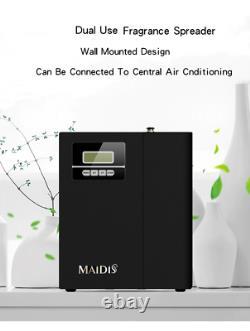Portatif Hvac Air Purifier Parfum Diffuseur Mur Sans Eau Monté 300m³ Couverture