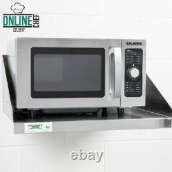 Restaurant Commercial En Acier Inoxydable Wall Mount Microwave Shelf Nsf 24 X 18